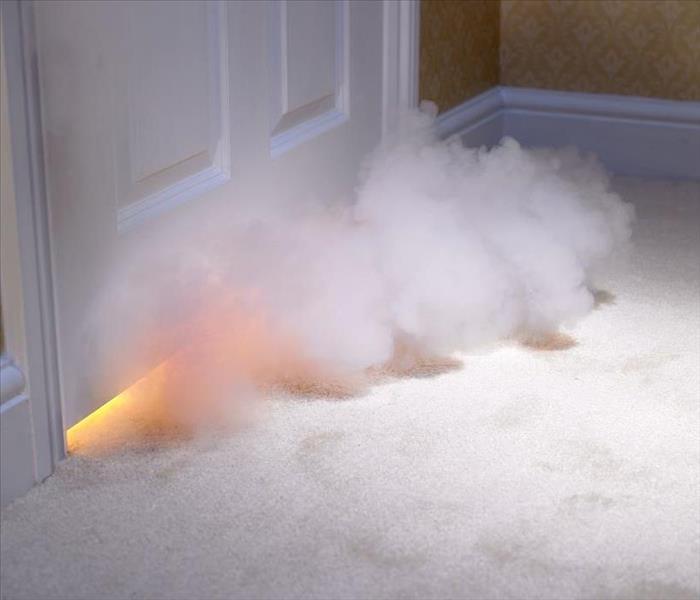fire damage smoke odor